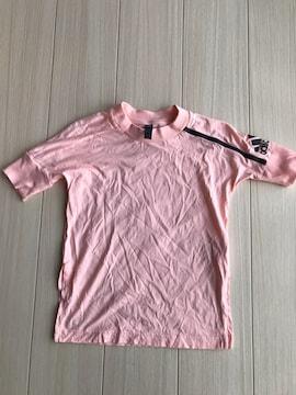 美品 アディダス adidas 半袖Tシャツ キッズ 140