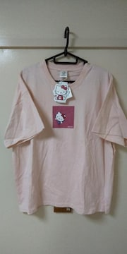 ハローキティのプリント入りTシャツ未使用品LL