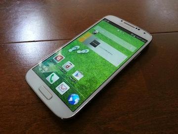 即落/即発!!美中古品 SC-04E Galaxy S4 ホワイト おまけ多数