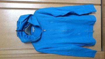 激安89%オフカジュアル、アメカジ、長袖シャツ、パーカー(美品、青、日本製、L)