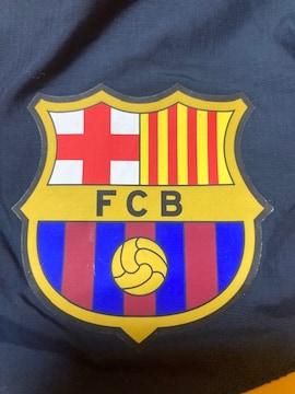 サッカー FC バルセロナ NIKE ナイロン パーカー ジャンバー XL イエロー ネイビー 上着