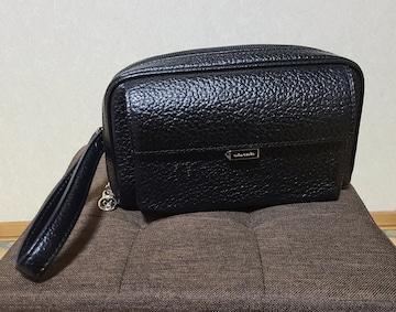 mila schon(ミラショーン)◆メンズ本革セカンドバッグ◆ネロ◆新品未使用◆黒◆