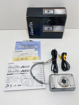 Z266 MBR★美品FUJIFILM FinePix A610 デジタルカメラ