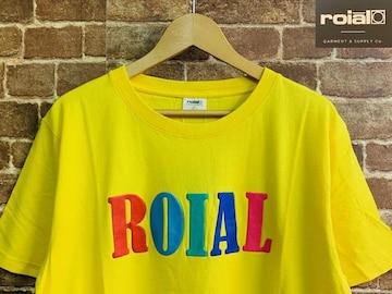 表記L/新品!カリフォルニア発 ロイアル ROIAL ロゴ Tシャツ サーフ 西海岸スタイル