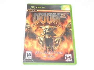 xbox★DOOM 3 RESURRECTION OF EVIL 海外版