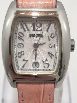 T316 Folli Follieフォリフォリ STEEL 腕時計 クォーツ