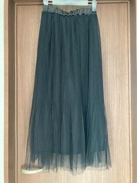 未使用★チュールスカート
