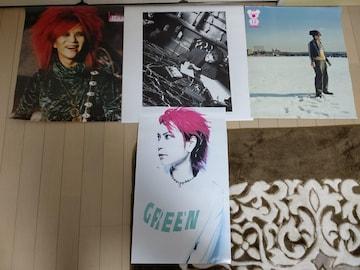 X JAPAN hide YOSHIKI ポスター まとめ売り 22枚