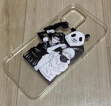 呪術廻戦☆狗巻棘 パンダ 真希 iPhoneケース iPhone12 12pro