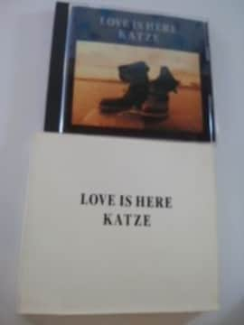 カッツェアルバムKATZE LOVE IS HERE送料込み