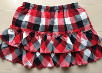 新品 ティアード フリル  スカート