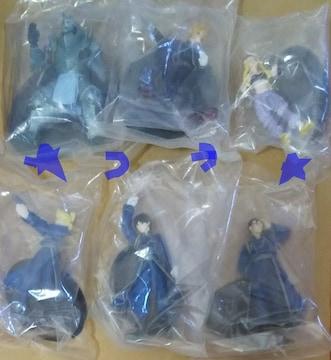 鋼の錬金術師 AMADA アマダ キャラクターズ フィギュア 全6種類