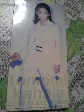 華原朋美*LOVEISALLMUSIC↑CDシングル美品☆小室哲哉♪