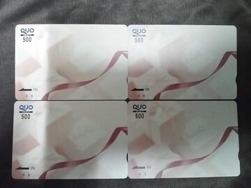 500円 QUOカード クオカード ギフト 未使用 赤リボン JCB-QUO