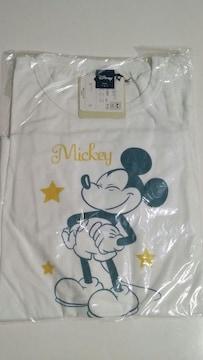 【新品・タグ付】Disney長袖Tシャツ(Mickey)Lサイズ