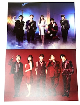 AAA 集合 B フォトカード 2枚セット DOME TOUR 2019 +PLUS