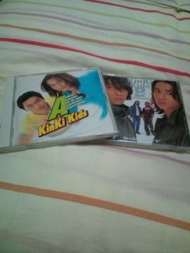 KinKi Kids☆アルバム2つセット中古