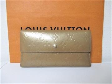 ☆LOUIS VUITTON ルイヴィトン モノグラム 三つ折り 長財布☆ゴールド