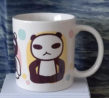 未使用☆アランジアロンゾ☆パンダ☆マグカップ メガパンダ