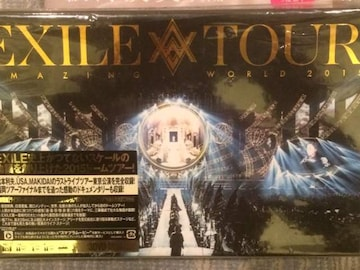 激安!超レア!☆EXILE/TOURWORLD2015☆初回盤3DVD☆新品未開封!