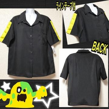 【新品】袖ラインテープ付BIGシャツ