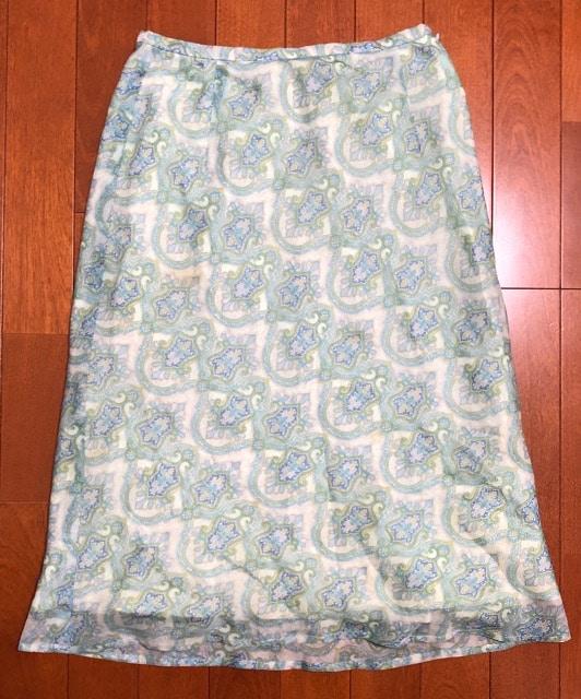 ef-deエフデ☆ペイズリー柄スカート  < ブランドの