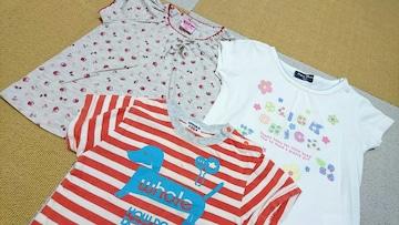 女の子*半袖Tシャツ*まとめ売り95〜100�p