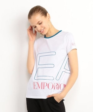 タグ付き新品エンポリオアルマーニEA7ビッグロゴTシャツトップス