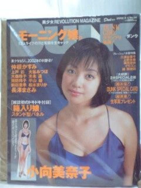 2002年DUNK小向美奈子付録付  < タレントグッズの