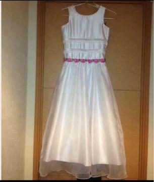 *新品 発表会用ドレス 12-14歳用
