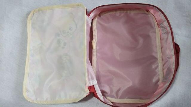☆handmade☆おむつケース☆グラグラ☆ピンク☆ < キッズ/ベビーの