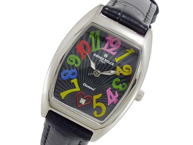 アモーレドルチェ レディース 腕時計AD13304S-SSBKCL  < 女性アクセサリー/時計の