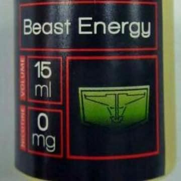 ヴェ-プリキッド BEAST ENERGYエネルギVAPE!電子タバコ液
