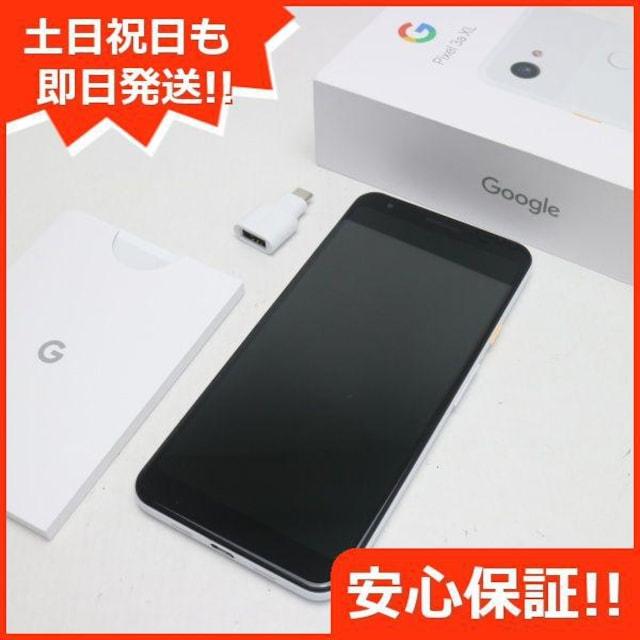 超美品●SIMロック解除済 SoftBank Google Pixel 3a XL G020D  < 家電/AVの