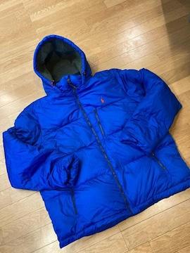 POLO RALPH LAUREN ダウンジャケット sizeXL 青 高品質