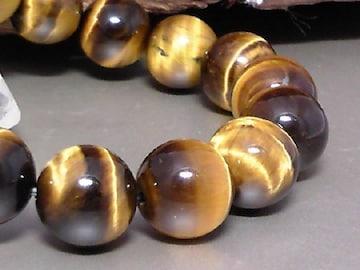 タイガーアイ12ミリ§虎目石数珠
