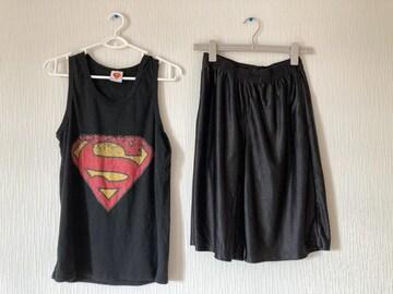 スーパーマン タンクトップ ランニング トップス インナー