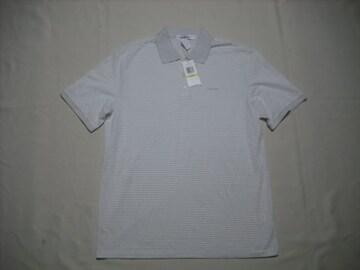 01 男 CK CALVIN KLEIN カルバンクライン 半袖ポロシャツ M