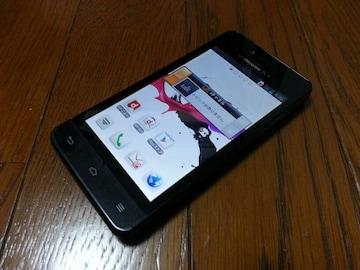 特価品!!美中古品 L-05D Optimus it ブラック LTE Xi