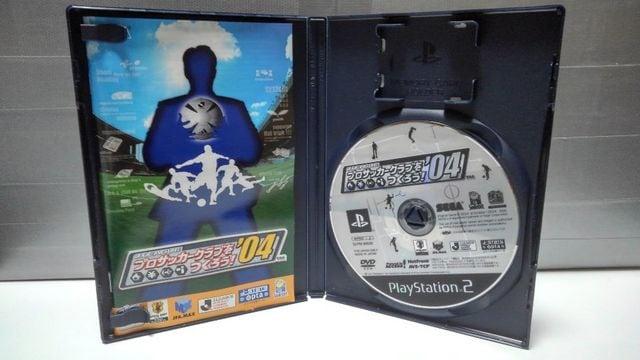 PS2 J.LEAGUE プロサッカークラブをつくろう ! '04 < ゲーム本体/ソフトの