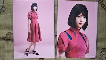 送込〓乃木坂46〓西野七瀬〓セブンイレブン ブロマイド〓2枚セット