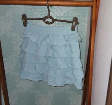 ワンウェイ デニムミニスカート