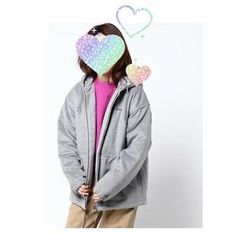 ☆X-girl グレー中綿ブルゾン size2☆