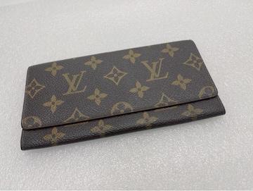 D418 美品★ ルイヴィトン 二つ折り 長財布 札入れ