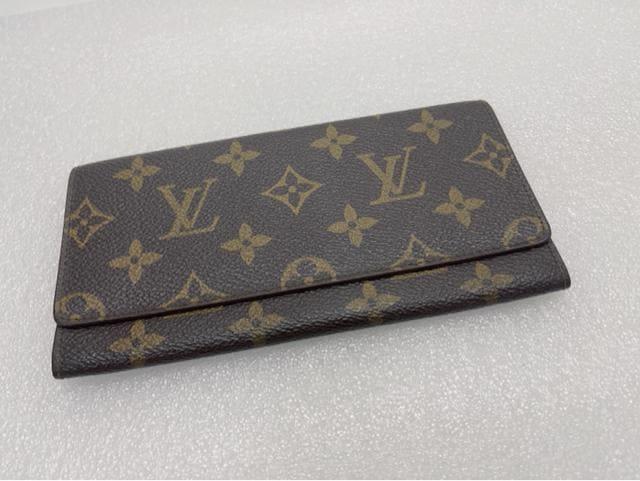 D418 美品★ ルイヴィトン 二つ折り 長財布 札入れ  < ブランドの