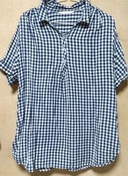 半袖シャツ 大きいサイズ 3L レディース