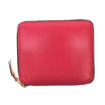 ◆新品本物◆コムデギャルソン SUPER FLUO 2つ折財布(PK)『SA2100SF』