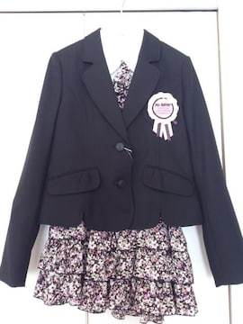 新品★卒業式 Mc Sister フォーマル スーツ 4点 160