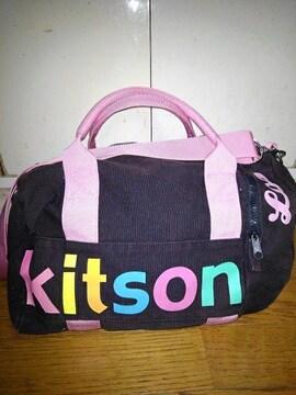 キットソン ミニボストンバック ショルダバック
