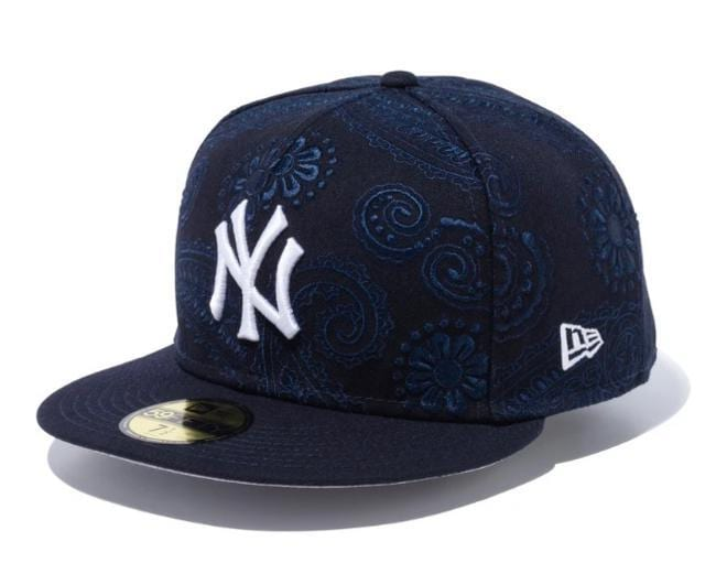 ニューエラ SWIRL NYヤンキース グレーアンダーバイザー CAP☆  < ブランドの